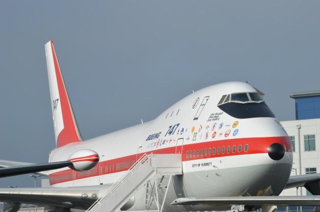 ニュース画像 1枚目:ミュージアム・オブ・フライトに展示されている747初号機「N7470」
