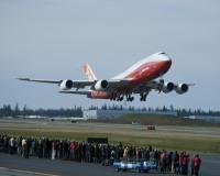 ニュース画像 1枚目:ボーイング最新の747、747-8インターコンチネンタルの初飛行
