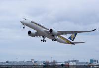 ニュース画像 1枚目:シンガポール航空塗装 A350