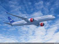 ニュース画像 1枚目:スカンジナビア航空塗装のA350-900