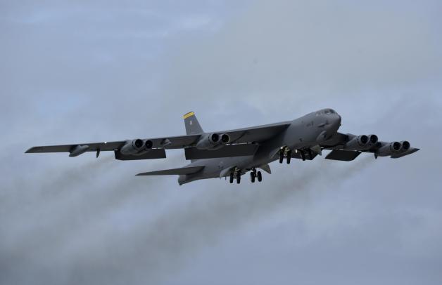 ニュース画像 1枚目:エンジン脱落のインシデントが発生したB-52、イメージ