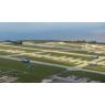 ニュース画像 2枚目:アンダーセン空軍基地の上空を飛行