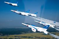 ニュース画像 1枚目:航空自衛隊 T-4 ブルーインパルス