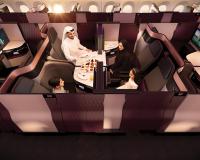 ニュース画像 1枚目:カタール航空の新ビジネスクラス「Qsuite」