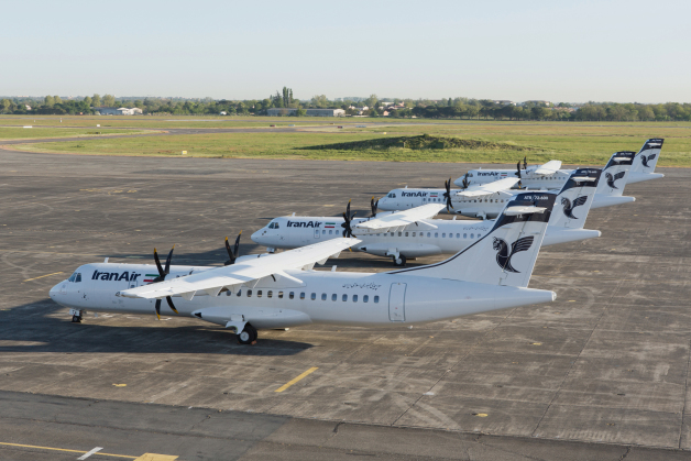 ニュース画像 1枚目:イラン航空に納入されたATR 72-600、4機