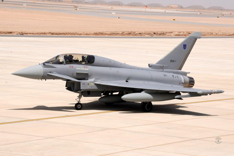 ニュース画像:オマーン空軍向けタイフーン | FlyTeam ニュース