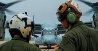 ニュース画像 1枚目:VMM-262のMV-22B、三沢基地で