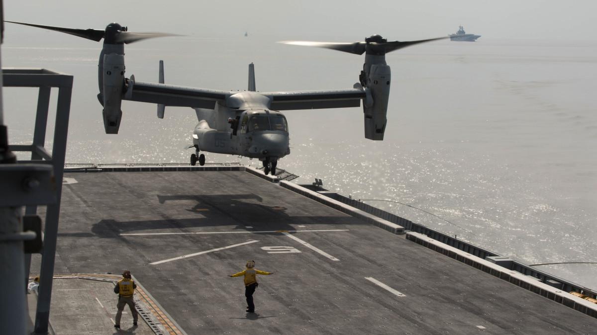 アメリカ海軍COD用HV-22(仮称)オスプレイは航続力が倍増 | FlyTeam ニュース
