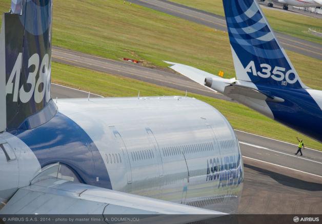ニュース画像 1枚目:A380とA350で主役交替?4発機は消えるのか?