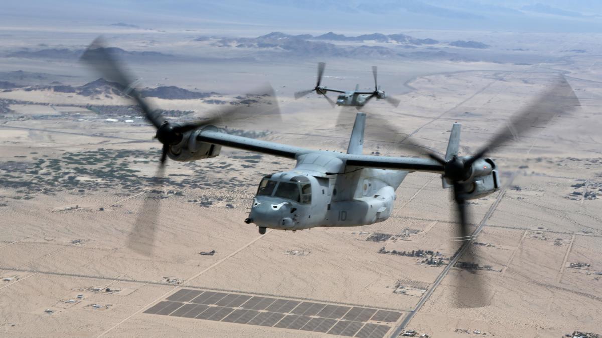 アメリカ海軍、V-22オスプレイCOD機に空中給油機能を求めず | FlyTeam ニュース