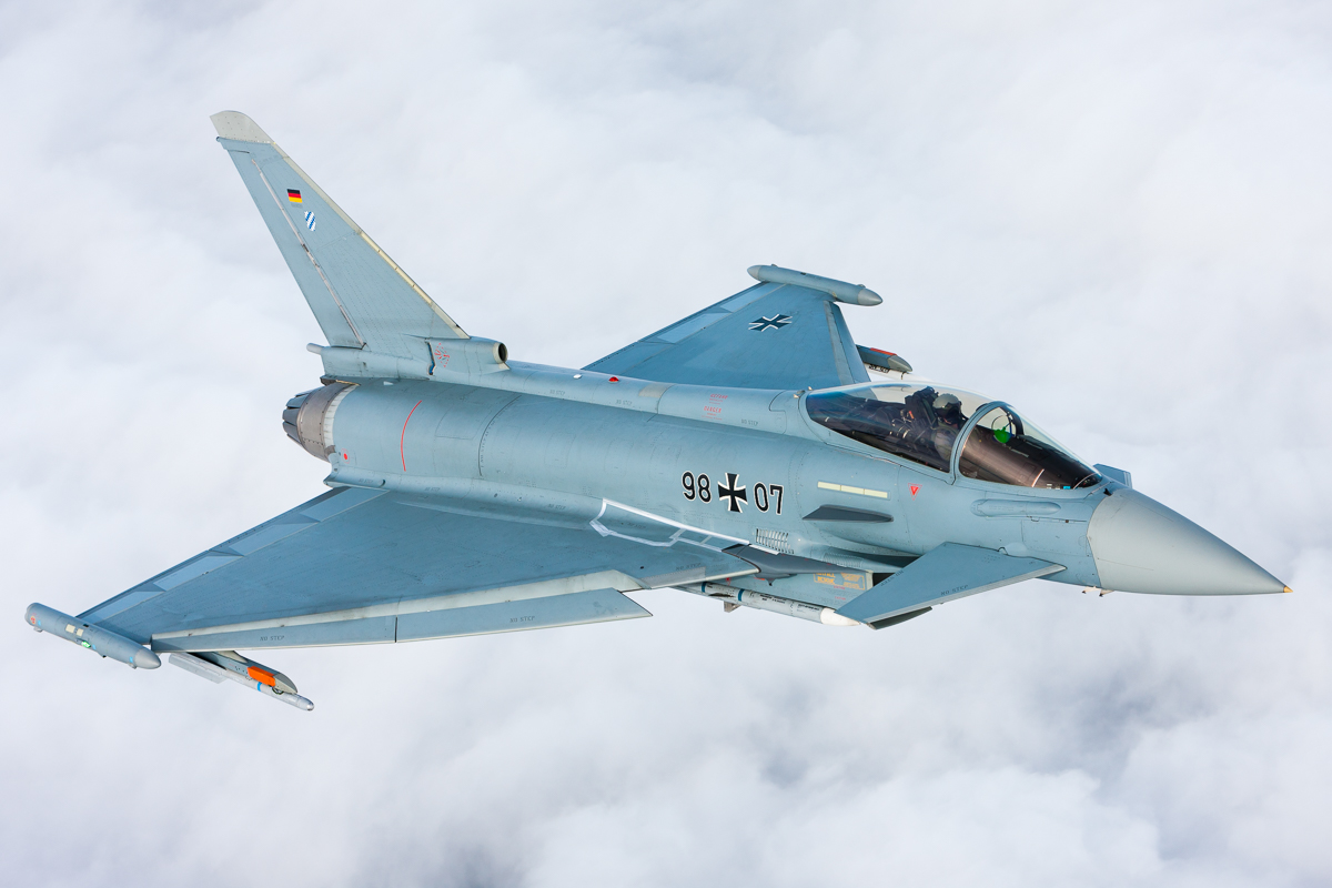 ユーロファイター・タイフーン、空力改善で運動性をアップ | FlyTeam ニュース ユーロファ