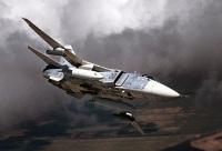 ニュース画像 1枚目:ロシアの戦闘爆撃機スホーイSu-24フェンサー。
