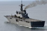ニュース画像 1枚目:海上自衛隊 輸送艦 おおすみ(LST-4001)