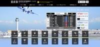 ニュース画像 1枚目:リニューアルされた羽田空港の国内線ホームページ