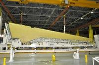ニュース画像 1枚目:MS-21に装備される主翼