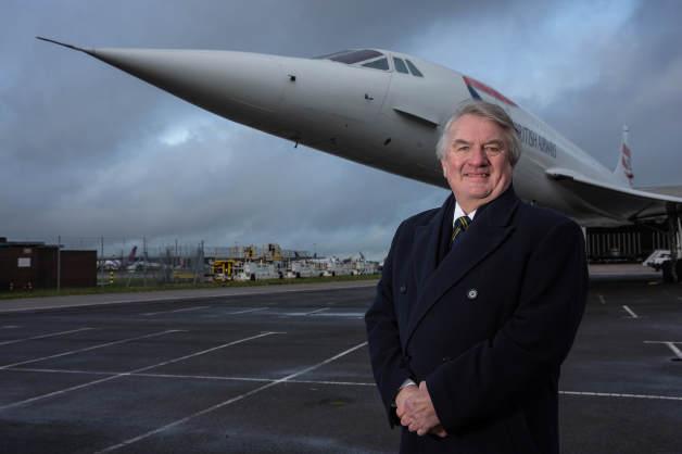 ニュース画像 1枚目:「G-BOAB」に再会したコンコルドの元チーフ・パイロット、マイク・バニスター機長