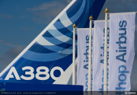 ニュース画像 1枚目:A380 尾翼