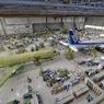 ニュース画像 2枚目:手前右の「ANA」塗装が5号機、手前左が疲労強度試験機、奥に4号機