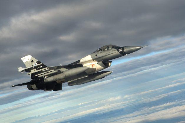 ニュース画像 1枚目:18AGRSのF-16C