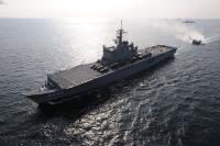 ニュース画像 1枚目:輸送艦 おおすみ LST-4001