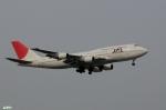 妄想竹さんが、羽田空港で撮影した日本航空 747-446Dの航空フォト(写真)