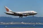 Gambardierさんが、関西国際空港で撮影した中国国際航空 747SP-J6の航空フォト(写真)
