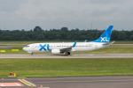 jombohさんが、デュッセルドルフ国際空港で撮影したXL航空 ジャーマニー 737-8Q8の航空フォト(写真)