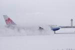 新千歳空港 - New Chitose Airport [CTS/RJCC]で撮影されたチャイナエアライン - China Airlines [CI/CAL]の航空機写真