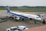 いんちゃんさんが、岡山空港で撮影した全日空 A321-131の航空フォト(写真)