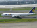 kouta@itmさんが、羽田空港で撮影したスカイマーク 767-36N/ERの航空フォト(写真)