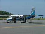 Y@RJGGさんが、大島空港で撮影した新中央航空 BN-2B-20 Islanderの航空フォト(写真)