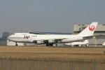 コタちゃんさんが、成田国際空港で撮影した日本航空 747-246F/SCDの航空フォト(写真)