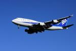 夏奈さんが、成田国際空港で撮影した全日空 747-481の航空フォト(写真)