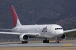 JA22HPさんが、広島空港で撮影した日本航空 767-246の航空フォト(写真)