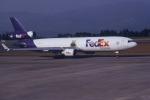 夏奈さんが、鹿児島空港で撮影したフェデックス・エクスプレス MD-11Fの航空フォト(写真)