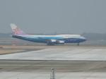 犬じゃがさんが、成田国際空港で撮影したチャイナエアライン 747-409の航空フォト(写真)