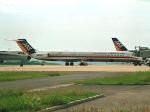 まさのりさんが、長崎空港で撮影した日本エアシステム MD-81 (DC-9-81)の航空フォト(写真)