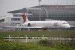 プレミアムさんが、仙台空港で撮影した日本航空 MD-81 (DC-9-81)の航空フォト(写真)