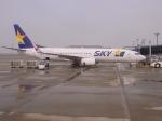 shin-ichiroさんが、中部国際空港で撮影したスカイマーク 737-86Nの航空フォト(写真)