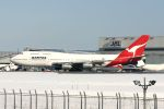 hiroki_h2さんが、成田国際空港で撮影したカンタス航空 747-338の航空フォト(写真)