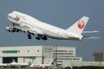 Jason Pengさんが、台湾桃園国際空港で撮影した日本航空 747-346の航空フォト(写真)