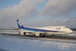 VIPERさんが、新千歳空港で撮影した全日空 747-481(D)の航空フォト(写真)