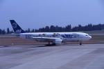 夏奈さんが、鹿児島空港で撮影した日本エアシステム A300B2K-3Cの航空フォト(写真)