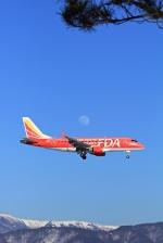 セピアさんが、松本空港で撮影したフジドリームエアラインズ ERJ-170-100 (ERJ-170STD)の航空フォト(写真)