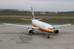 もぐ3さんが、新潟空港で撮影した日本航空 A300B4-203の航空フォト(写真)
