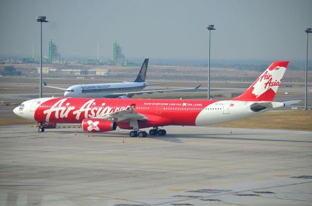 タイ・エアアジア・エックス Airbus A330-300 HS-XTA クアラルンプール国際空港  航空フォト   by IL-18さん