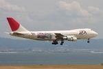 speedbirdさんが、関西国際空港で撮影した日本アジア航空 747-246Bの航空フォト(写真)
