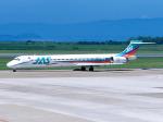 まさのりさんが、長崎空港で撮影した日本エアシステム MD-90-30の航空フォト(写真)