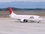 まさのりさんが、長崎空港で撮影したJALエクスプレス 737-446の航空フォト(写真)