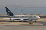 肉食獣さんが、羽田空港で撮影したサウジアラビア王国政府 747SP-68の航空フォト(写真)